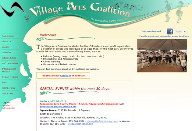 Village Arts Coalition - Participatory Dance, designed and developed by Sites and Beyond, Lafayette, Louisville, Boulder, Colorado