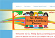 St. Philip Early Learning Center, web design and development by sites and beyond in Louisville and Boulder Colorado and Erie, CO