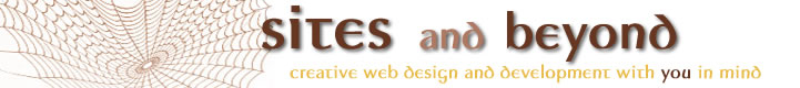 Sites and Beyond, LLC, Web design and development in Boulder CO and Louisville CO
